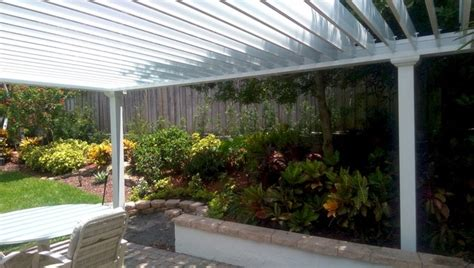motorized louvered roof trellis boca raton florida