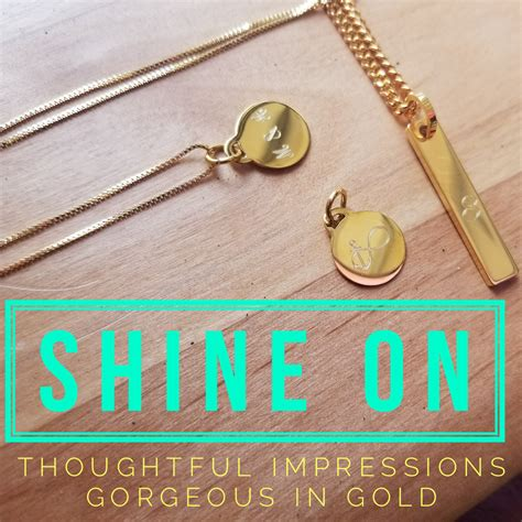 how to make gold jewelry shine gorgeous in gold personalized gold jewelry to shine ti