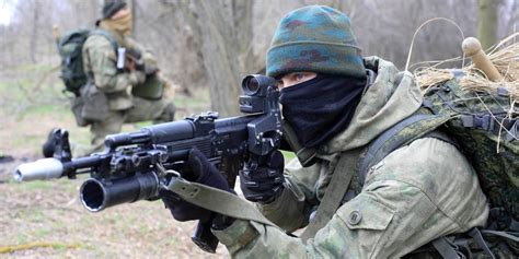 weapons used by russia s elite spetsnaz operators