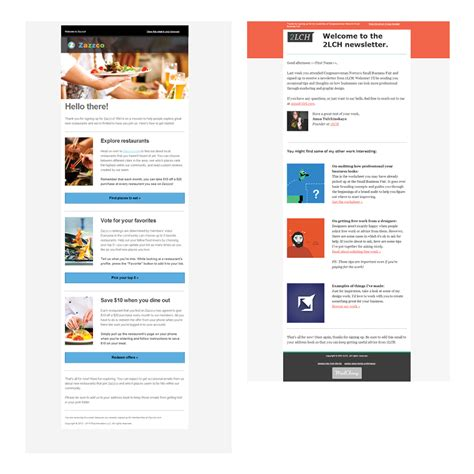 designing a welcome email a worksheet by 2lch