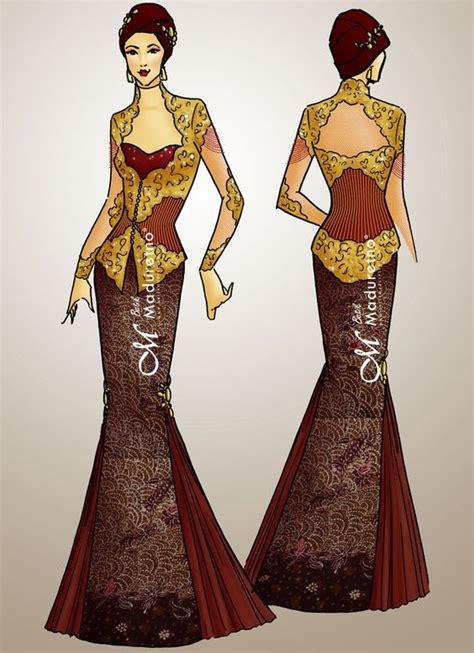 desain baju queen desain kebaya pesta ds kby 001 kami menerima design dan