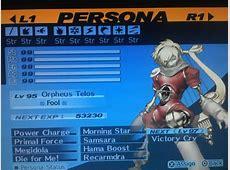 Post your favorite Persona! : persona4golden Izanagi No Okami Vs Orpheus Telos