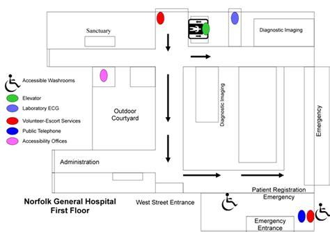 general hospital floor plan norfolk general hospital floor plans