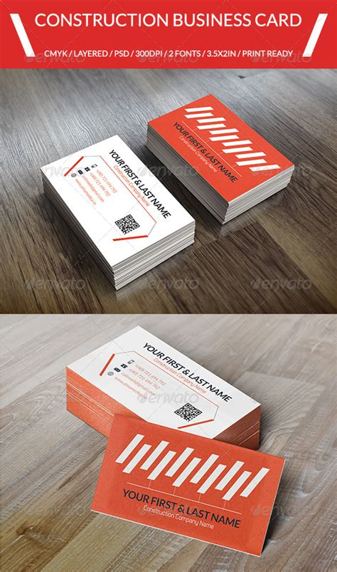Construction Free Card Template 187 Tinkytyler Org Stock Photos Graphics Roofing Business Card Templates