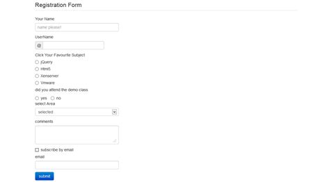 tutorial bootstrap jsp bootstrap forms tutorial studywithdemo
