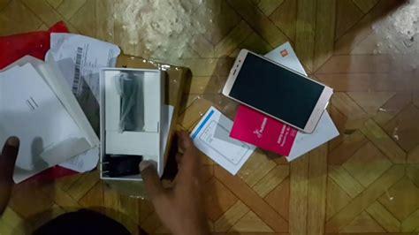 Hape Ram 2gb unboxing redmi note 3 pro indonesia dari