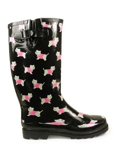 Boots Import Gea11076ba Ready waterproof snow wellies funky wellington boots size uk 3 4 5 6 7 8 ebay