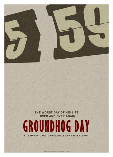 groundhog day no tomorrow 12 best ilustraciones images on illustrations