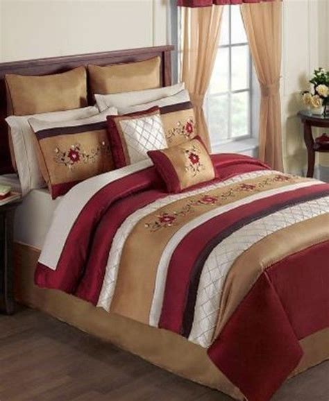 red and gold comforter set sunham lynette 24 piece king comforter set red gold