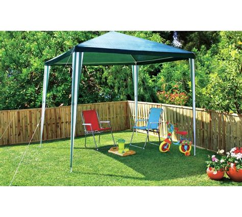 argos gazebos and garden awnings buy home square large 2 7m x 2 7m garden gazebo at argos
