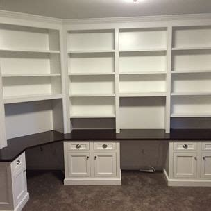 bookcase built in desk derr j s woodworking big pool md