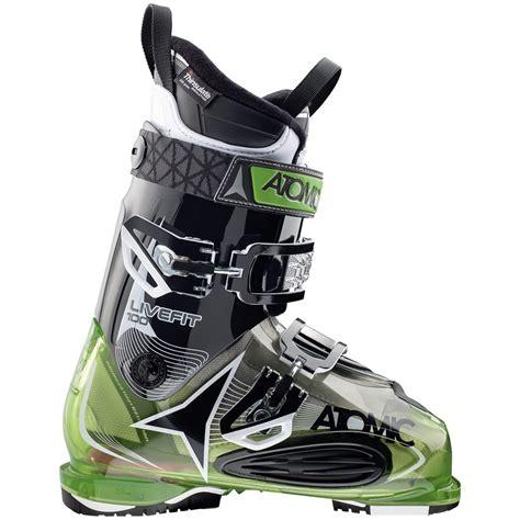atomic ski boots atomic live fit 100 ski boots 2017 evo
