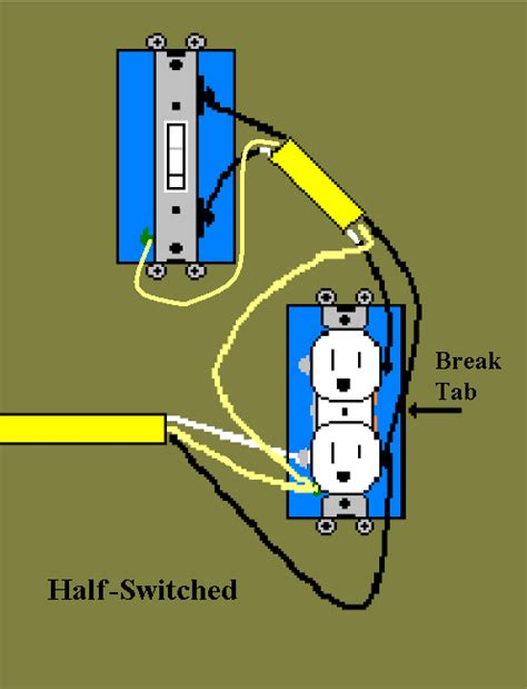 switch controlled outlet wiring diagram wiring diagram 2018