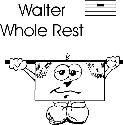 quarter rest coloring page quarter rest image cliparts co