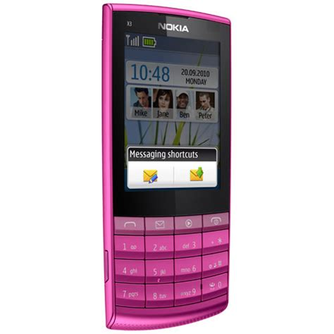 Hp Nokia X3 Layar Sentuh Nokia X3 02 Touch And Type 3 02 Nokia X3 02 Touch And Type