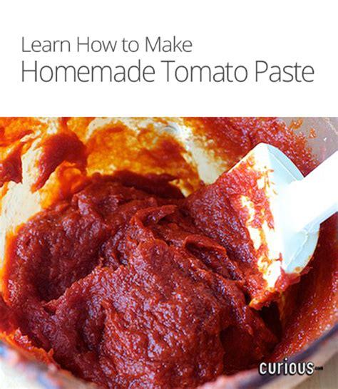 how to make homemade tomato paste curious com