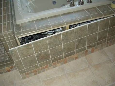 tiled access panels bathroom 25 best ideas about bath panel on pinterest white bath