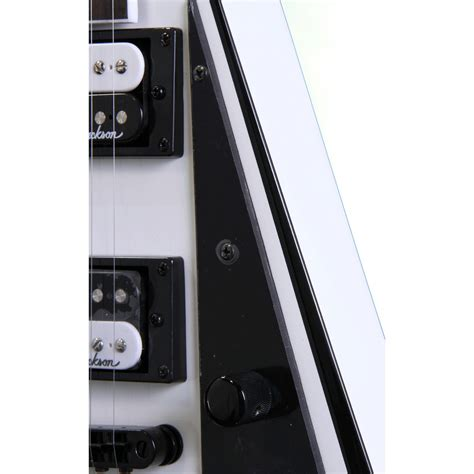 Jackson Js32t Rhoads Gitar Elektrik jackson js32t rhoads electric guitar white at gear4music ie