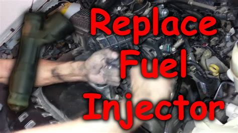 fuel injector removal youtube