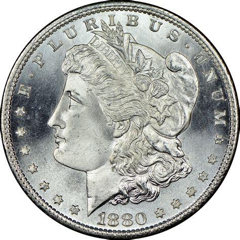 1880 silver dollar value 1880 s silver dollar ngc ms 64 san