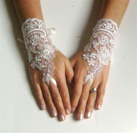 bridal glove ivory glove cord