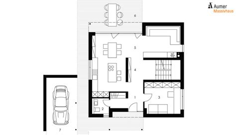 Kubus Haus Grundriss by Kubus 152 Aumer 183 Massivh 228 User Gewerbebau