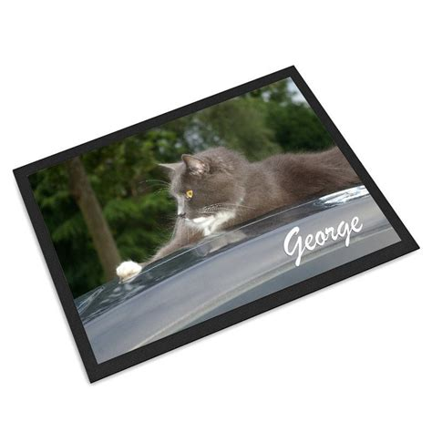 mats on dogs personalized pet mat personalized pet feeding mats with photos