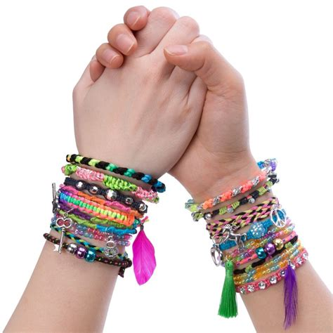 Forever Bracelets Girls Deluxe Bracelet Craft Kit   Educational Toys Planet