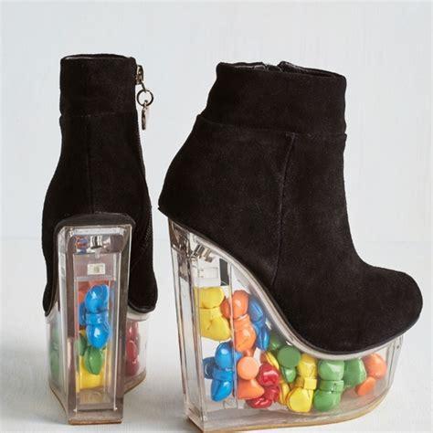 rainbow boots 67 boots rainbow high heels from em s closet on