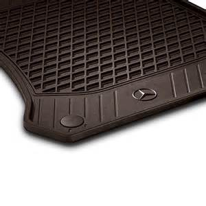 rubber floor mats espresso brown 2 glc x253