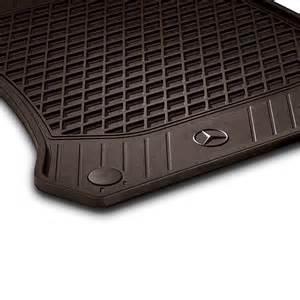 Car Floor Mats Mercedes Rubber Floor Mats Espresso Brown 2 Glc X253