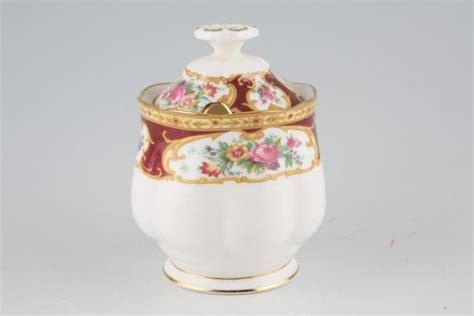 Royal Albert Lady Hamilton Jam Pot   Lid   Chinasearch