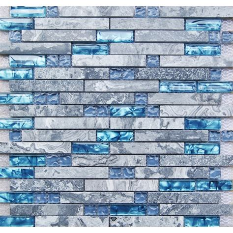 Backsplash Kitchen Glass Tile sea blue glass tile kitchen backsplash marble bathroom