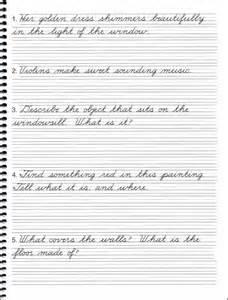 Cursive handwriting sentences hand writing