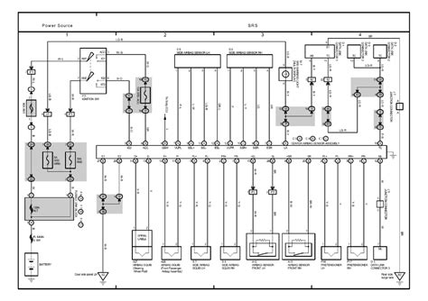 toyota highlander electrical wiring diagram the kluger