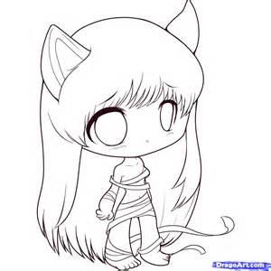 Draw chibi elfen lied step by step chibis draw chibi anime draw
