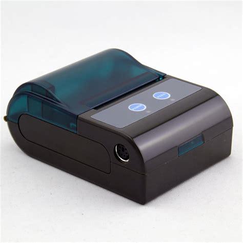 Printer Pos Bluetooth 58mm bluetooth thermal pos terminal printer with rs232 and mini usb zkc5804 view bluetooth pos