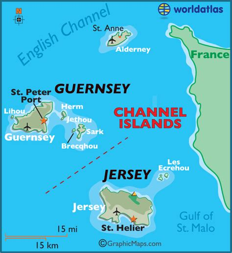 map uk and channel islands channel islands large color map
