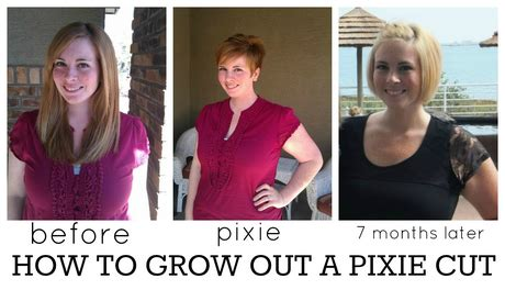 how to grow out if a short short afro going from long hair to pixie cut