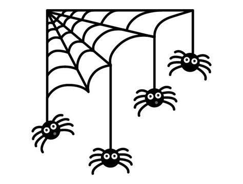 printable halloween decorations black and white halloween spiders and web wall decal weedecor