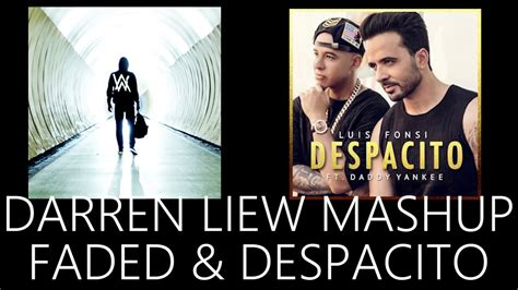 despacito youtube remix despacito faded mashup remix youtube