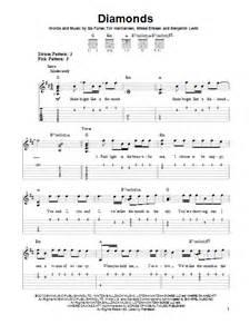 California King Bed Guitar Chords Easy Diamonds Sheet Direct