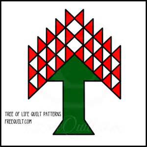 Tree of life quilt patterns free quilt block or applique from