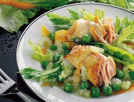 cuisiner le coq recette de paupiettes de poulet au foie gras ma 238 tre coq
