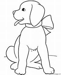 Cute Dogs Coloring Pages To Print For Kids  Free Printable