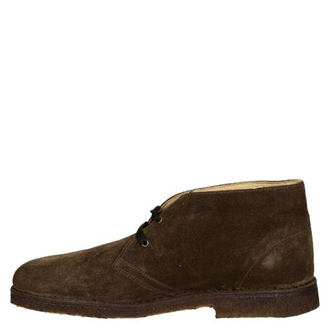 brown suede leather s chukka boots handmade