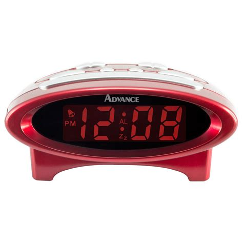 4229 advance time technology electric 0 7 quot lcd display digital alarm clock ebay