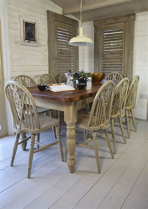 chic dining table how to paint a dining room table shabby chic dining table