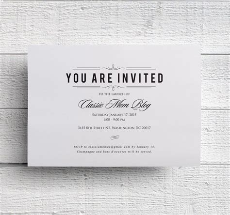 Graduation invitation, rehearsal dinner invitation