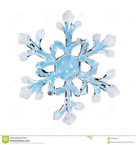 toy snowflake royalty free stock image image 34856586